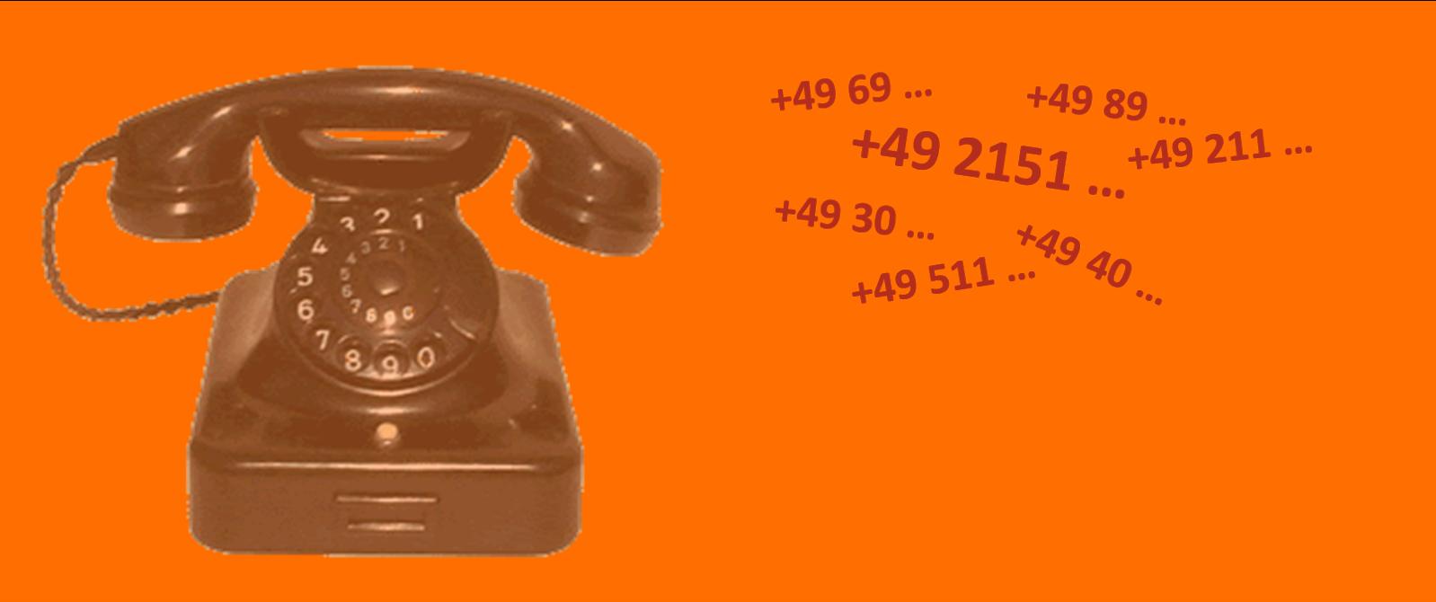 Huur Duits telefoonnummer